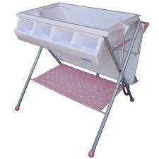 baby go standard bathinette bathtub changer combo in pink free