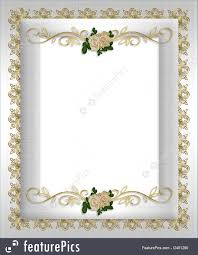 Wedding Invitation Formal Illustration