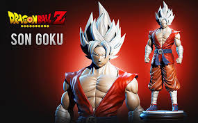 3D print model Son <b>Goku Super</b> Dragonball Fanart | CGTrader