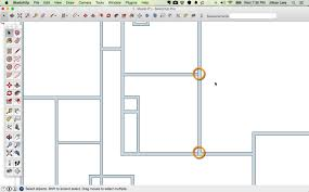 draw a floor plan in sketchup