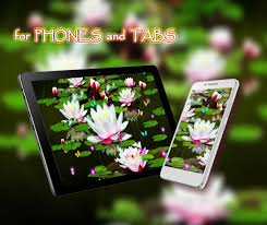 Lotos Lily Water Live Wallpaper For Android Apk Download