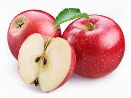 red apple fruit. apple plant; green fruit; red fruit