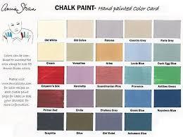 Annie Sloan Chalk Paint Color Chart Wydeven Designs More Annie Sloan Chalk Paint Adventures
