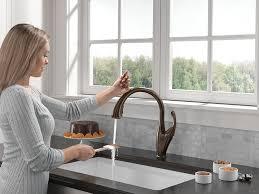 Delta Touch Kitchen Faucet Delta Faucet 9192t Rb Dst Addison Single Handle Pull Down Kitchen