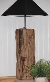 Dit Is Nou Een Gave Lamp Fantastische Staande Lamp Van Drijfhout