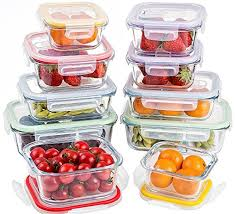 Glass Food Storage Containers With Locking Lids Stunning Jalousie 32 Pieces NEW Borosilicate Glass Food Storage Meal Saver
