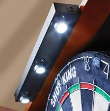 com viper shadow buster dartboard cabinet mounted display light sports outdoors