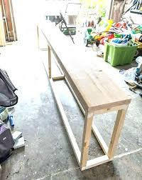 sofa table with storage. Sofa Tables With Storage Table Homemade Best .