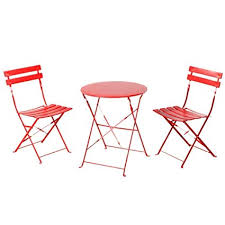folding chairs and tables.  Folding Grand Patio Indoor Yard Sturdy Table And 2 Folding Chairs Patio Bistro Sets  Of 3 Furniture With And Tables E