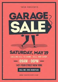 Sales Flyers Templates Sales Flyer Template Lovely 14 Garage Sale Flyer Designs Templates