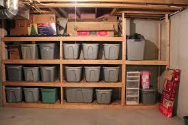 Diy Basement Chic Ideas Basement Shelving Plans Building A Wooden Storage Shelf