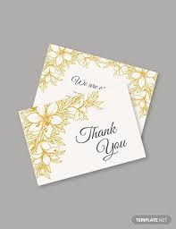 Thank You Sympathy Cards 12 Sympathy Thank You Card Designs Templates Psd