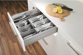 <b>Cutlery</b> insert, Häfele Matrix Box P/Blum, <b>combination</b> of aluminium ...