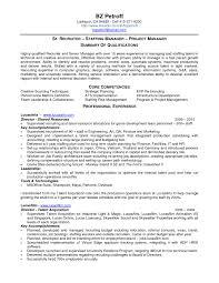 Recruiting Resume Unique Sample Recruiting Resume For Study