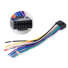 car radio stereo wire harness cd plug cable 16 pin connector fit for Nissan Pathfinder in a Harness Connector Plugs at Pin Connector Plug Wire Harness