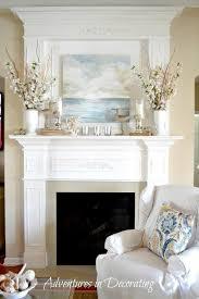 Best 25 Fireplace Mantel Decorations Ideas On Pinterest Fire Mantelpiece  Decoration