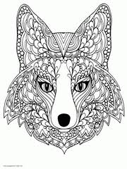 We have over 500 animal coloring pages for you to print. 100 Animal Coloring Pages For Adults Difficult