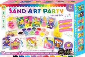 Sand Card Sand Art In A Box Party Pack 20pcs C End 12 3 2019 3 15 Pm