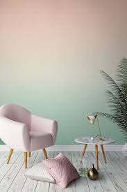 wallpaper for office walls. Love This Colour Palette? Peachy Tones Gently Fade Into A Rejuvenating Minty\u2026 Wallpaper For Office Walls