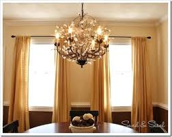veranda linear chandelier pottery barn knockoff veranda round chandelier knock off