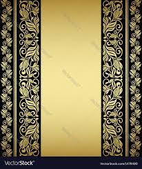 Gilded Design Gilded Floral Elements And Patterns