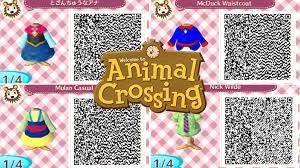 Animal Crossing Disney QR Code Designs ...