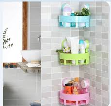 china wall mounted household storage racks abs bathroom kitchen rack supplier