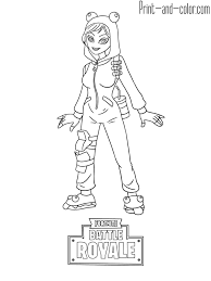 Fortnite Battle Royale Coloring Page Onesie Skin Tryybache Nel 2019