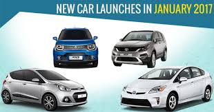 new car launches in januaryCar Launches in January 2017