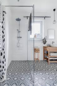 bathroom tiles black and white. Plain White Studio McGee  Save Or Splurge Floor Tile To Bathroom Tiles Black And White