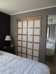 image mirror sliding closet doors inspired. Decorating Small Bedroom : Inspiring Design Using White Comforter And Closet With Brown Wooden Image Mirror Sliding Doors Inspired N