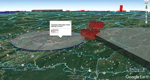 3d Airspace Map Inside Google Earth Plus Faa Sectional