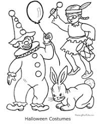 halloween costumes coloring pages halloween coloring pages costumes
