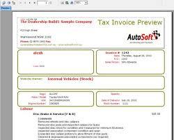 Invoice Generator Custom Invoice Repair Order Vehicle