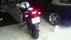 Led Lights For Ninja 250r Custom Led Tail Light 08 11 Kawasaki Ninja 250r