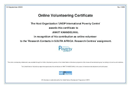 Volunteer Appreciation Certificate Template Of For Service Sample ...