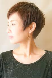 女性50代ベリーショート ヘアスタイル髪型ヘアカタログ 楽天