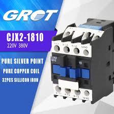 Cjx2 1801 18a 3p 220v Electrical Schneider 3 Phase Ac Contactor