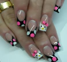 Beautiful Nail Art Designs For Christmas Parties 2013
