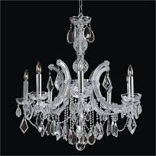 8 light maria theresa chandelier maria theresa 561ad8lsp 7c