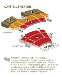 Capitol Theater Seating Chart The Amazing Overture Seating Chart Seating Chart