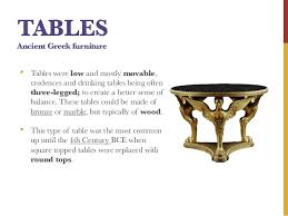 type of furniture design. 18. TABLES Ancient Greek Furniture Type Of Design