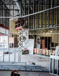Interior metal framing Window Interior Pic Smucker Company Commercial Interior Metal Stud Framing Contractor In Cleveland