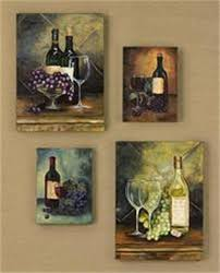 Wine Bottle And Grape Kitchen Decor Love grapes and wine kitchen decor Always reminds me of I am the 1