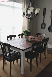 farmhouse dining room. wonderful farmhouse dining table plans with diy free rogue engineer room r