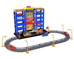 ≡ Игровой <b>набор Dave Toy</b> City Parking Гараж с треком (32007 ...