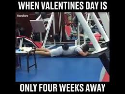 These memes to capture how people are exercising at home. When Valentines Day Is Around The Corner Hilarious Valentine S Day Video Youtube