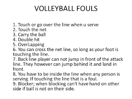 important rules and referees lessons teach history of volleyball essay