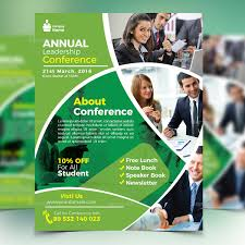 Conference Flyer Templates Free Magdalene Project Org