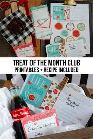 treat of the month club in partnership with e a sweet gift idea to